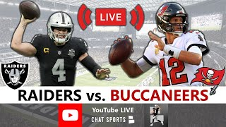 Raiders Lose 45-20 To Bucs: Live Reaction, Derek Carr, Tom Brady, Highlights, Analysis | NFL Week 7