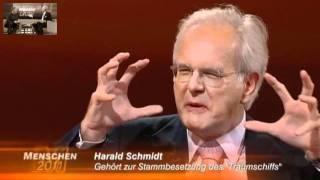 Harald Schmidt bei Hape Kerkeling (Menschen 2011)