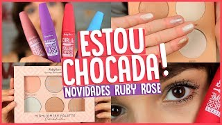 NOVOS ILUMINADORES E RÍMEIS RUBY ROSE | MOSTREI TUDO!