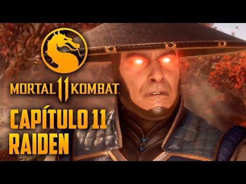 Mortal Kombat 11 Capitulo 11 - Raiden o Deus que só BESTEIRA (PT-BR PS4 PRO)