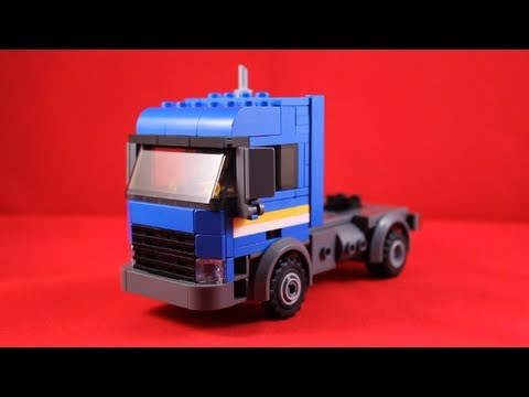 lego custom kenworth truck build guide how to make do everything. Black Bedroom Furniture Sets. Home Design Ideas