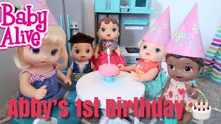 BABY ALIVE Abbys Birthday Party baby alive videos