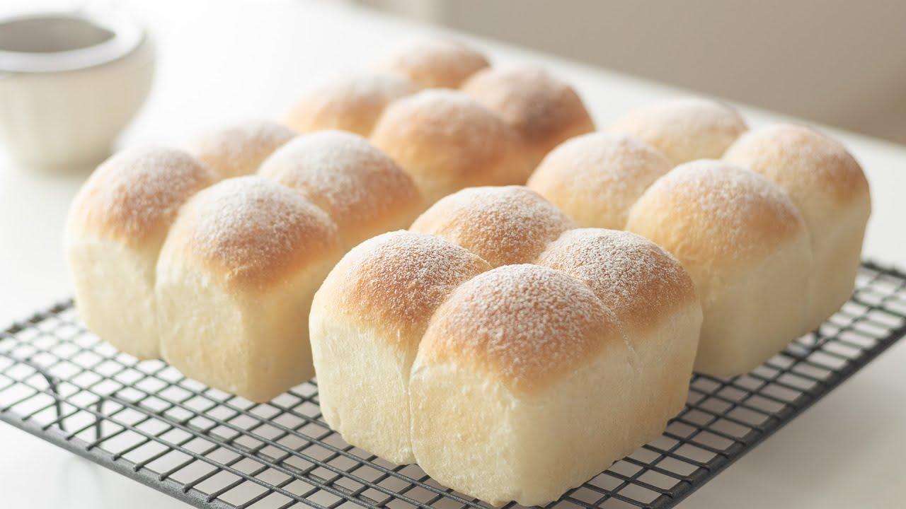 ふわふわミニちぎりパンの作り方 Soft & Fluffy Mini Bread|HidaMari Cooking