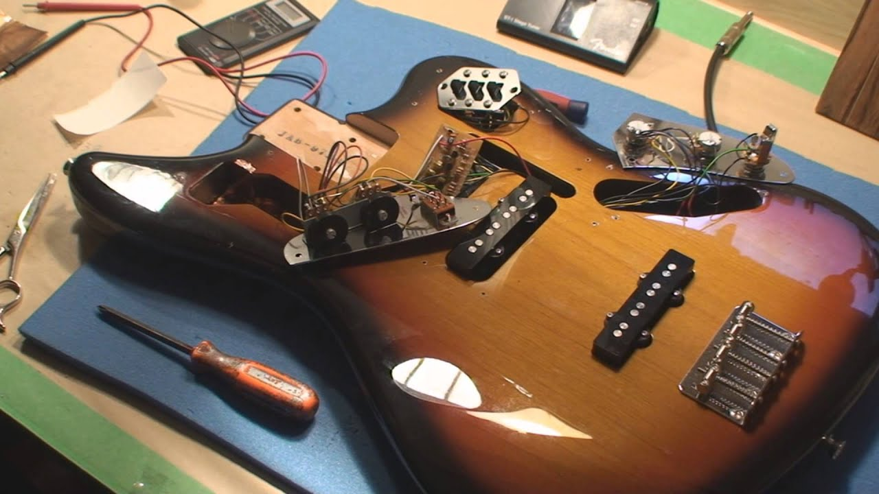 hight resolution of jaguar bass noise fix youtube rh youtube com fender jaguar bass wiring diagram squier jaguar bass wiring diagram