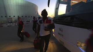 Al Hilal and Persepolis arrive at the Mohammed Bin Zayed Stadium! 2017 Video
