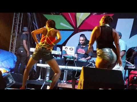 Belize Soca and Jazz Fest dance-off