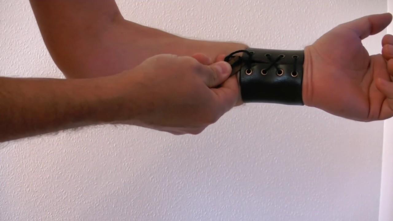 Bondage wrists tightly bound