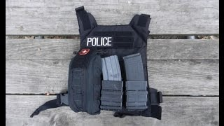 POLICE Plate Carrier: The Go Bag Alternative for LEO