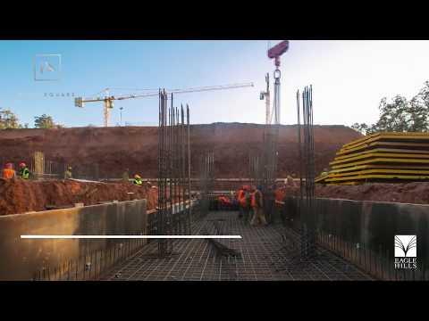Progression des Travaux de Construction à Rabat Square.