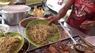 Chili Chicken (10 rs per piece ) & Noodles | Tasty Chinese Street Food in Kolkata