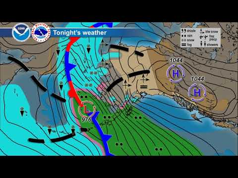 December 21, 2017 Alaska Weather Daily Briefing