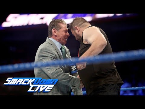 Kevin Owens brutally attacks Mr. McMahon: SmackDown LIVE, Sept. 12, 2017 thumbnail