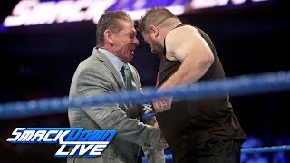 Video Kevin Owens brutally attacks Mr. McMahon: SmackDown LIVE, Sept. 12, 2017 download MP3, 3GP, MP4, WEBM, AVI, FLV September 2017