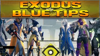 DESTINY - EXODUS BLUE TRIALS OF OSIRIS TIPS