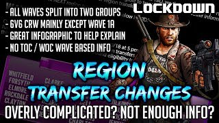 TWD RTS: Region Transfer Changes, Overly Complicated? The Walking Dead: Road to Survival