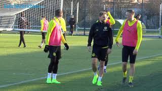 BVB-Training am Tag nach dem Tottenham-Spiel
