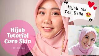 Tutorial Hijab Corn Skin Ala Artis Laudya Chintya Bella