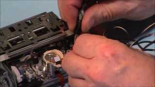 how to repair a jvc gy hd251 tape deck pt 1