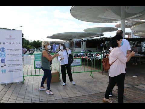 Los mercadillos de Córdoba capital abren al público