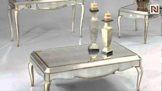 Collette Console Table By Bassett Mirror-t1267-400