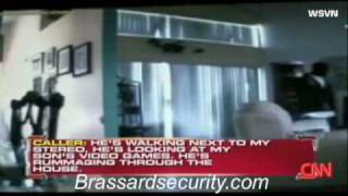 Hidden Home Security Camera Captures Home Invasion As It Ha