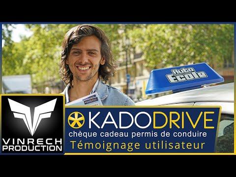 KADODRIVE chèques cadeaux permis de conduire - vidéo par VINRECH 3D