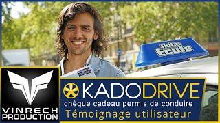 KADODRIVE les chèques cadeaux permis de conduire ! - VINRECH PRODUCTION
