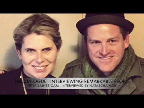 Peter Baines OAM interviewed by Natascha Moy