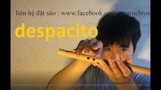 Hướng dẫn thổi sáo Despacito - Khẽ Thôi Cưng À - Sáo Trúc Bros