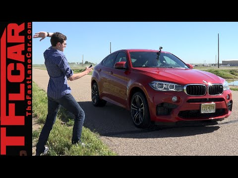 2015 BMW X6 M 0-60 MPH Performance Review: Does M=Missile?