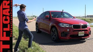 2015 BMW X6 M 0-60 MPH Performance Review: Does M=Missile?(http://www.TFLcar.com ) The 2015 BMW X6 M has supercar like horsepower without the supercar like compromises. In this TFLcar performance review Roman ..., 2015-06-13T12:53:23.000Z)