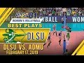 UAAP 81 WV: Des Cheng rises up to DENY Kat Tolentino | DLSU | Best Plays