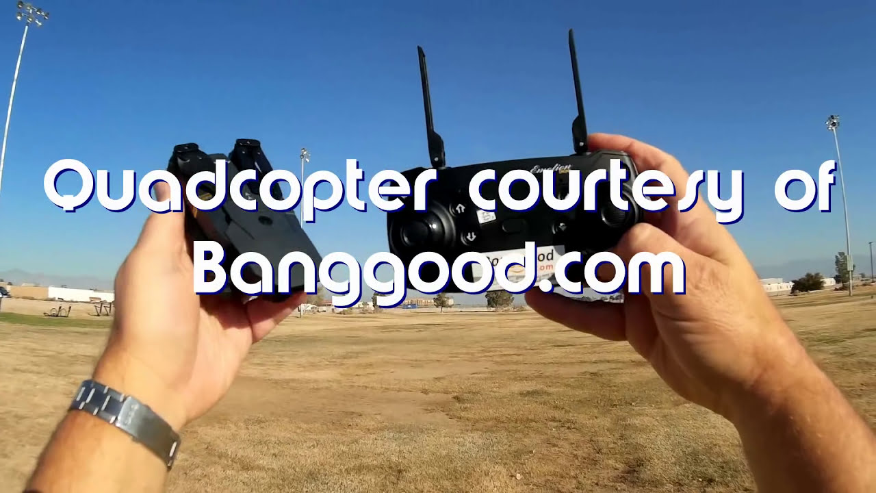 Eachine E58 720P Folding FPV Camera Drone Flight Test Review картинки