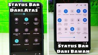 Cara Membuat Status Bar Android Berada Di Bawah