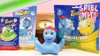 Tinti Schatztruhe für Jungs - Wasser färben mit Tinti Spielzeug - Unboxing