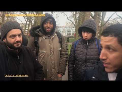 """IS ISLAM BASED ON  BLIND FAITH""[ SpeakersCorner ] 5/3/2017"