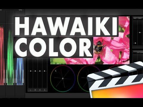 Hawaiki Color for Final Cut Pro X