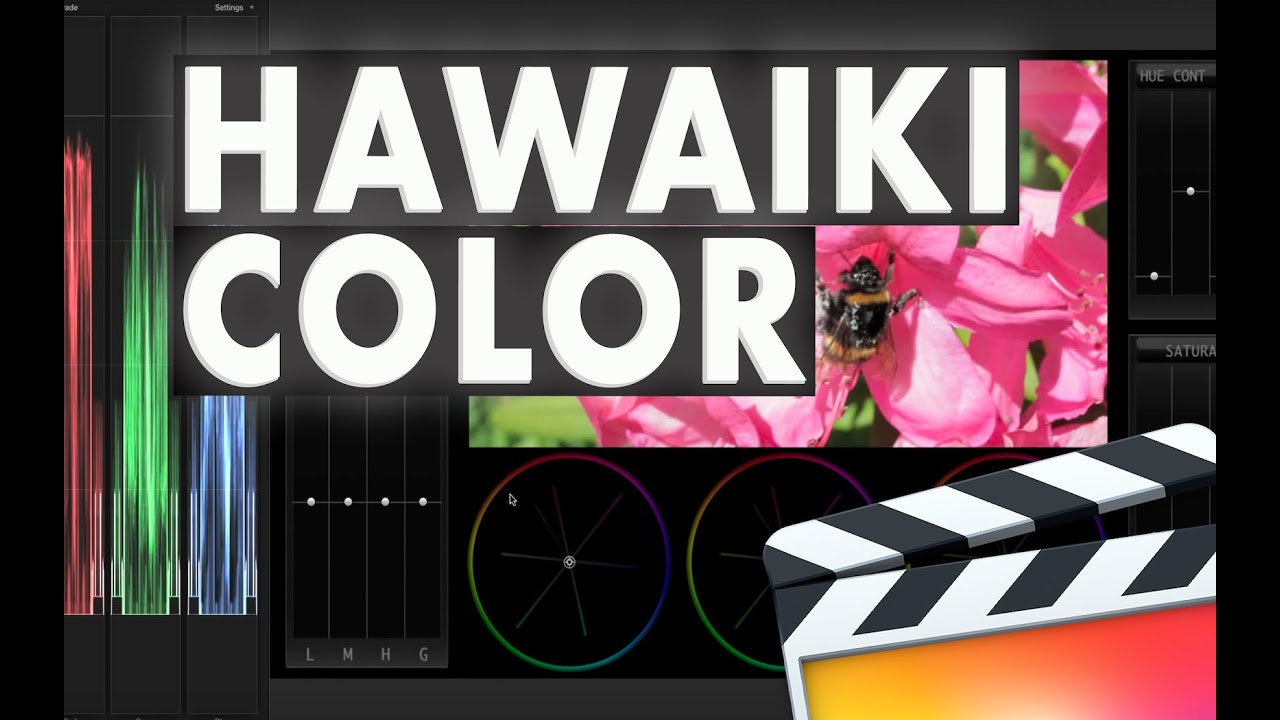 Hawaiki Color for Final Cut Pro X - YouTube