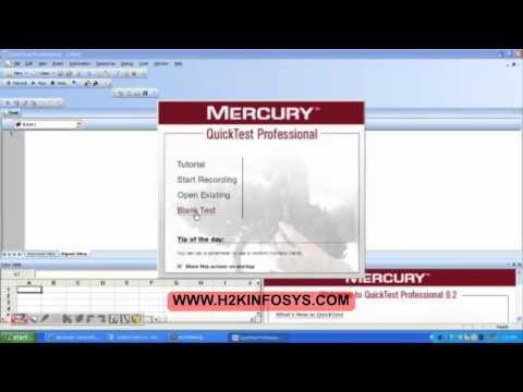 mercury quick test professional software free