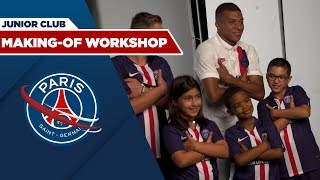 MAKING OF DU WORKSHOP AVEC LE JUNIOR CLUB