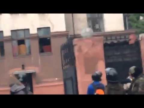 Одесса  Как поджигали Дом Профсоюзов полное видео 2 Мая