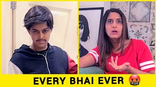 Every Bhai Ever 😂 | Anisha Dixit | #Shorts