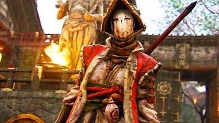 FOR HONOR The Nobushi Trailer (Samurai Gameplay)