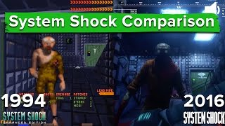 System Shock Remastered vs. Enhanced Edition - Graphics and gameplay comparison