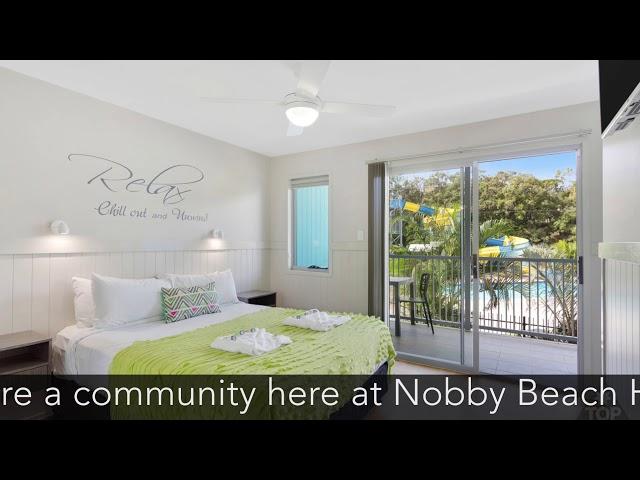 A Snapshot behind Nobby Beach Holiday Village