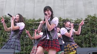KissBee 2ndシングル ちゆうちゃんのカメラ目線たまりません♡ 大人っぽく見えるけどまだ16歳の高校1年生です。16/2/25 道頓堀角座前広場.