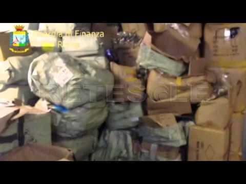 RETESOLE TG LAZIO Guardia di Finanza, a Roma sequestro di souvenir
