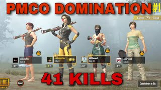 41 KILLS PMCO QUALIFIERS DOMINATION    TEAM AGS