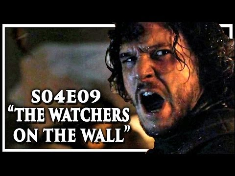 Game Of Thrones Season 4 Episode 9 'The Watchers On The Wall' Discussion And Review (S4E9)
