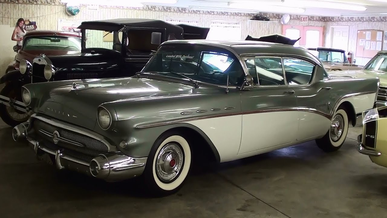 1957 buick roadmaster hardtop 364 v8 low original miles - youtube